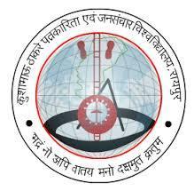 Kushabhau Thakre Patrakarita Avam Jansanchar Vishwavidyalaya logo