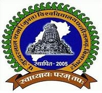 Pt Sundarlal Sharma Open University logo