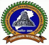 Pt Sundarlal Sharma Open University logo