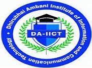 Dhirubhai Ambani Institute of Information and Communication Technology, Gandhi Nagar logo