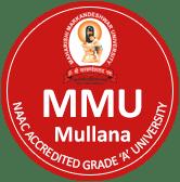 Maharishi Markandeshwar University Mullana logo