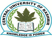 Central University of Kashmir logo