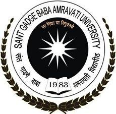 Sant Gadge Baba Amravati University logo