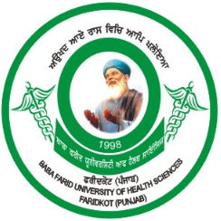 Baba Farid University Of Health and Medical science logo