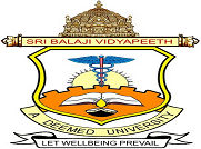 Sri Balajai Vidyapeeth Mahatma Gandhi Medical College logo