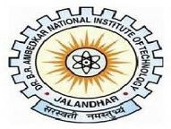 Dr B R Ambedkar National Institute Of Technology logo