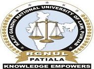 The Rajiv Gandhi National University Of Law logo
