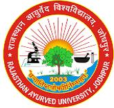 Dr Sarvepalli Radhakrishnan Rajasthan Ayurved University logo