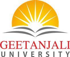 Geetanjali University logo