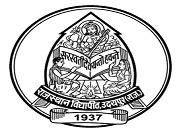 Janardan Rai Nagar Rajasthan Vidyapeeth University, Udaipur logo