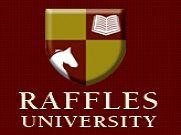 Raffles University, Neemrana logo