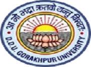 Deen Dayal Upadhyay Gorakhpur University logo