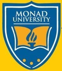 Monad University, Hapur logo