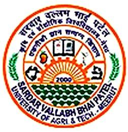 Sardar Vallabh Bhai Patel University of Agriculture and Technology logo