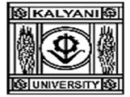 University of Kalyani, Kalyani logo