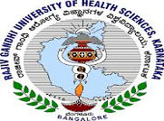 Rajiv Gandhi University of Health Sciences logo
