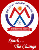 Maharaja Agrasen University logo