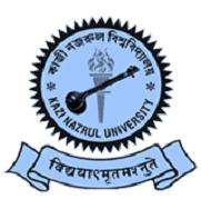 Kazi Nazrul University, Asansol, Bardhaman logo