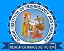 Gokul Institute of Technology and Sciences logo