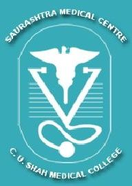 C U Shah Medical College, Surendra Nagar logo