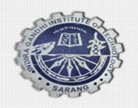 Indira Gandhi Institute Of Technology Sarang logo