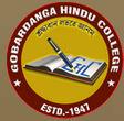 Gobardanga Hindu College logo
