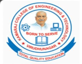 Kamaraj College of Engineering and Technology logo