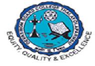 Devaswom Board College Thalayolaparambu logo