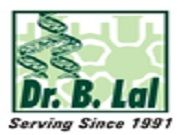 Dr B Lal Institute of Biotechnology logo