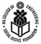 MG College of Engineering Thiruvallam logo