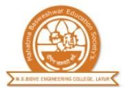 MS Bidve Engineering College logo
