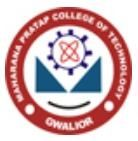 Maharana Pratap College of Technology logo