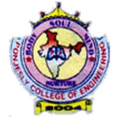 Ponjesly College of Engineering logo
