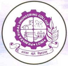 Pravara Rural Engineering College Loni logo