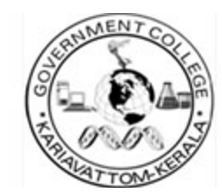 Govt College Kariavattom logo