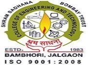 Shrama Sadhana Bombay Trusts College of Engineering and Technology logo