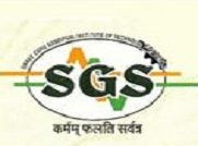 Shri Guru Sandipani Institute of Technology and Science logo
