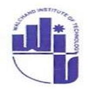 Walchand Institute of Technology logo