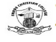 Erode Christian College of Arts and Science for Women logo