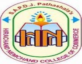 Hirachand Nemchand College of Commerce logo