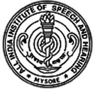 All India Institute Of Speech And Hearing Manasagangothri logo