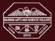 Nandha Arts and Science College logo