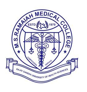 M.S. Ramaiah Medical College logo