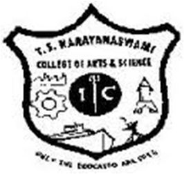 TS Narayanaswami College of Arts and Science logo