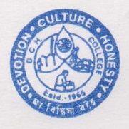 Dhruba Chand Halder College logo