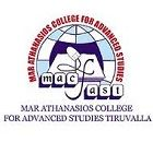 Mar Athanasios College for Advanced Studies Tiruvalla logo