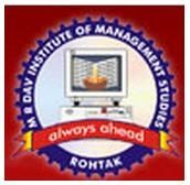 MR DAV Institute of Management Studies logo