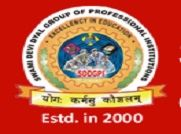 Swami Devi Dyal Institute of Pharmacy logo