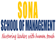 Sona School of Management logo