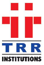 TRR COLLEGE OF ENGINEERING logo